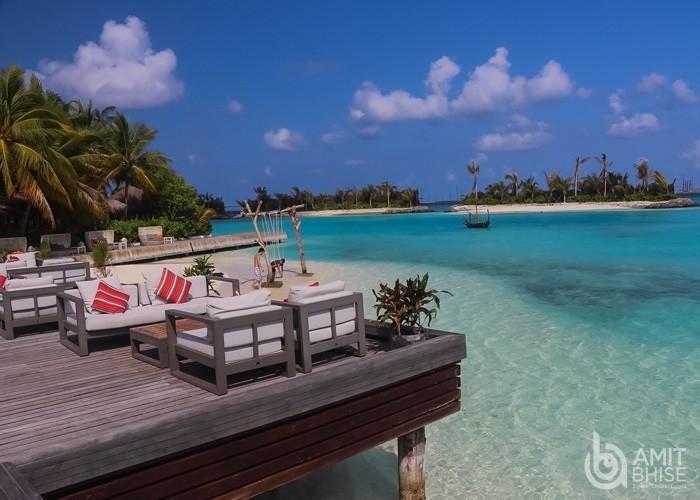 Beautiful nature view of maldives