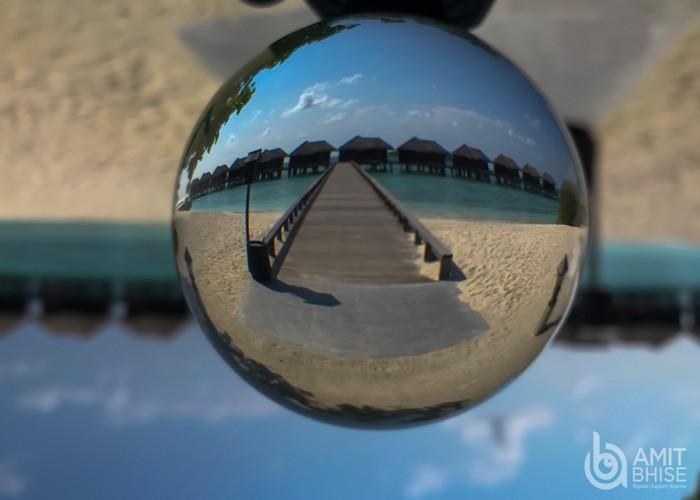 Glass ball photography