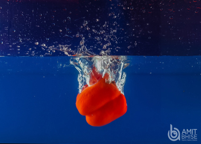 High Speed Photography of food