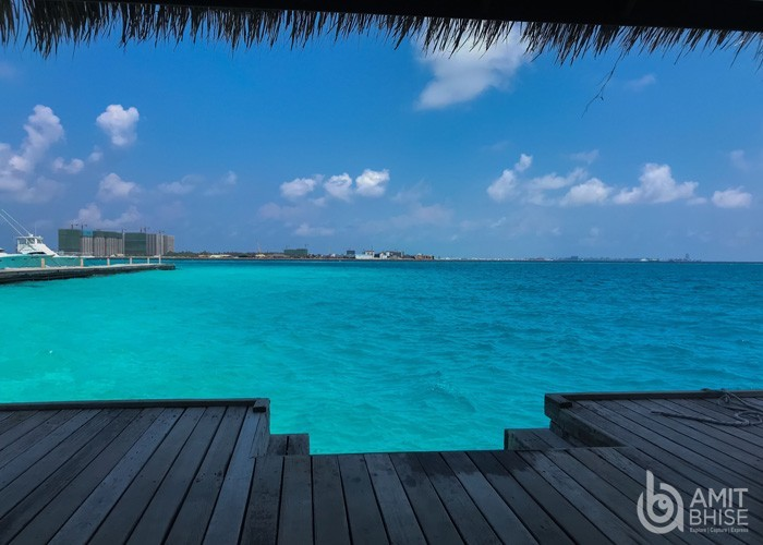 Maldives Nature Photography - View from Resort